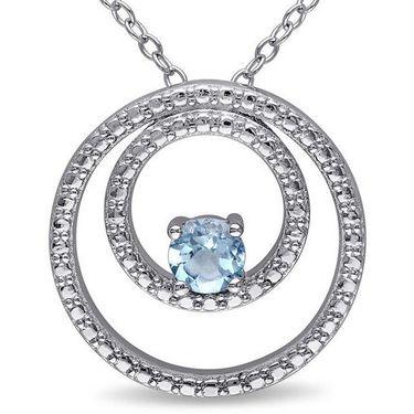 Kiara Swarovski Signity Sterling Silver Mrunalini Pendant_Kip0514