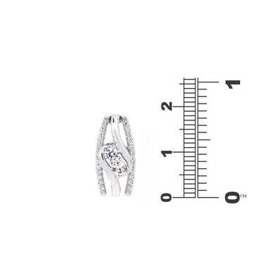 Kiara Swarovski Signity Sterling Silver Riya Pendant_Kip0558