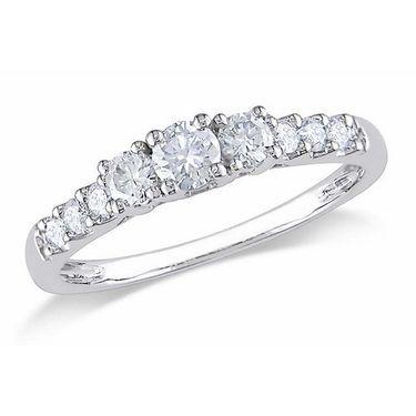 Kiara Swarovski Signity Sterling Silver Pranali Ring_Kir0670 - Silver