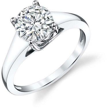 Kiara Swarovski Signity Sterling Silver Shruti Ring_Kir0707 - Silver