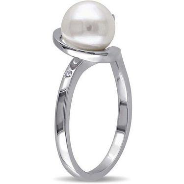 Kiara Swarovski Signity Sterling Silver Ashwini Ring_Kir0708 - Silver
