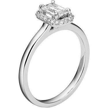 Kiara Swarovski Signity Sterling Silver Akshta Ring_Kir0720 - Silver