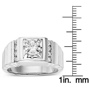 Kiara Swarovski Signity Sterling Silver Rajastan Ring_Kir0721 - Silver