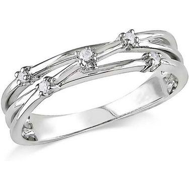 Kiara Swarovski Signity Sterling Silver Pallavi Ring_Kir0729 - Silver
