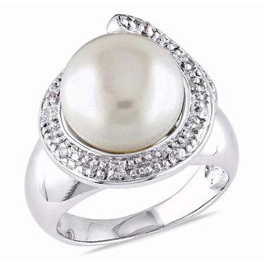 Kiara Swarovski Signity Sterling Silver Purva Ring_Kir0742 - Silver