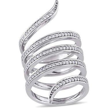 Kiara Swarovski Signity Sterling Silver Amisha Ring_Kir0770 - Silver