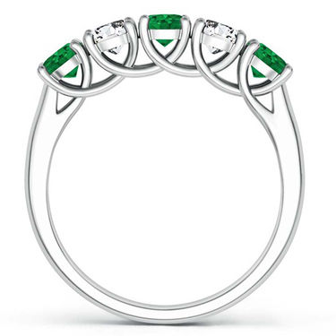 Kiara Swarovski Signity Sterling Silver Navya Ring_kir1125 - Silver
