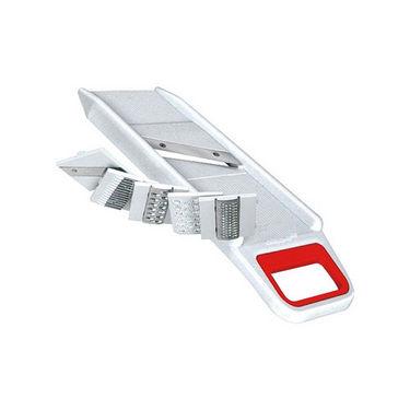 6 in 1 Slicer Cum Grater Multi Purpose Use - White & Red