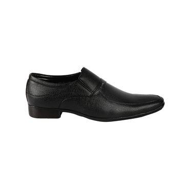 Bacca bucci Faux Leather  Formal Shoes KP-30 - Black