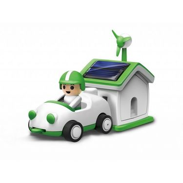 Kids Educational Solar Power House & Car Rechargeable Kit