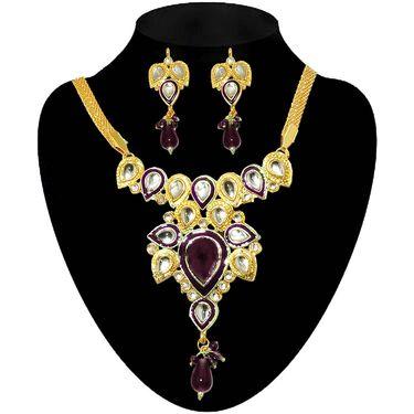 Kriaa set of 9 jewellery sets with Free kada_1000703