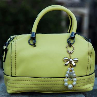 Arisha Yellow Handbag -LB 379