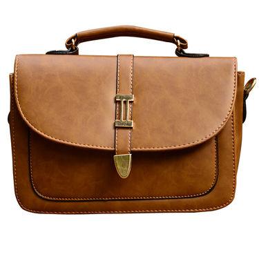 Sai Arisha PU Brown Handbag -LB648