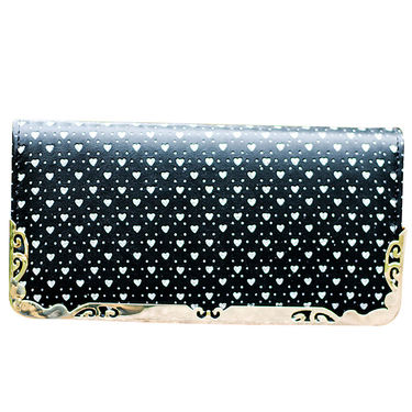 Sai Arisha PU Black Clutch-LB651