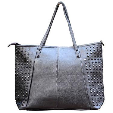 Sai Arisha PU Grey Handbag -LB663