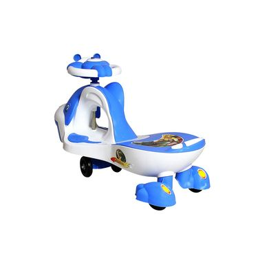 Kids Whale Swing Car White