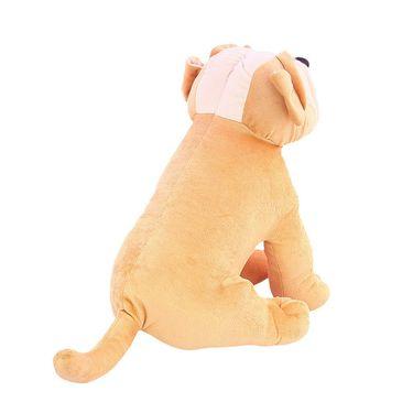 Cute Pug Stuff Animal 30 Cms Stuff Toy Brown