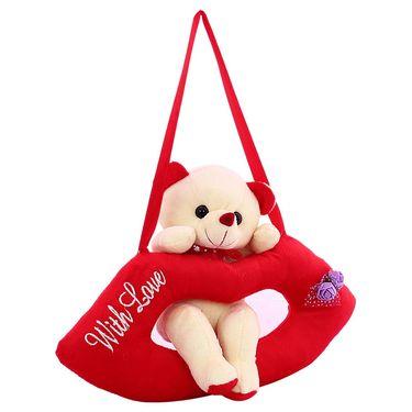 LipCute Bear Valentine Stuff Teddy - Snow