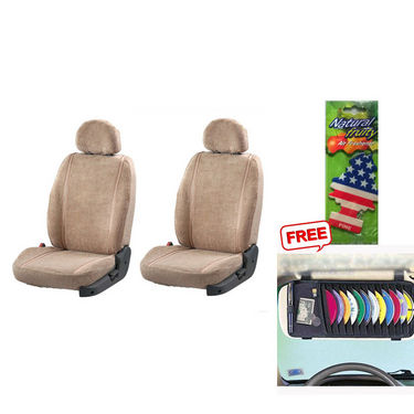 Latest Car Seat Cover for Hyundai Eon - Beige