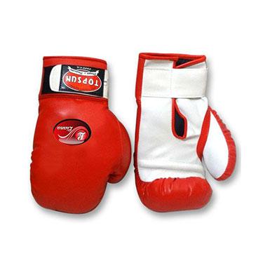 Liana Punching Gloves - Red & White