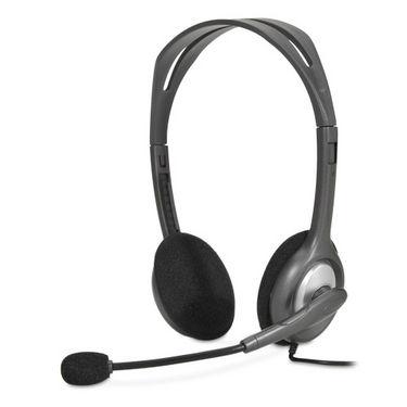 Logitech H110 Stereo Headset - Black