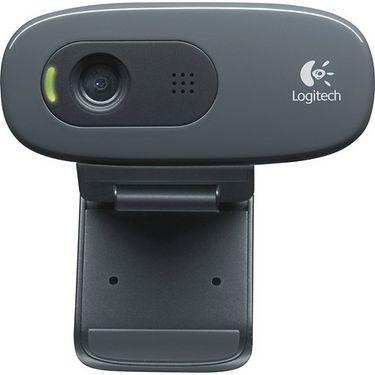 Logitech C270 HD Webcam - Black