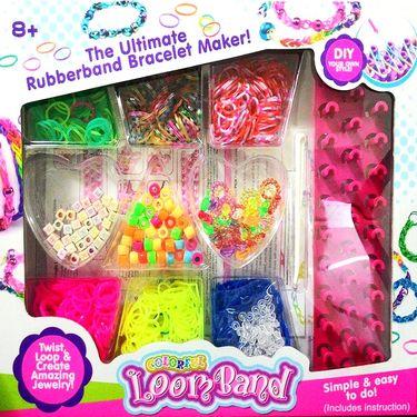 Twist & Loop Colorful Loom Band Maker Kit