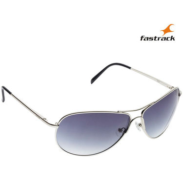 Fastrack Aviator Sunglasses For Unisex_M050bu7 - Blue