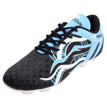 Mayor Black - Sky Blue Fiero Football Studs - 3