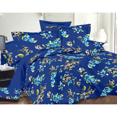 Valtellina Double Bed Sheet with 2 Pillow Cover-MO-200