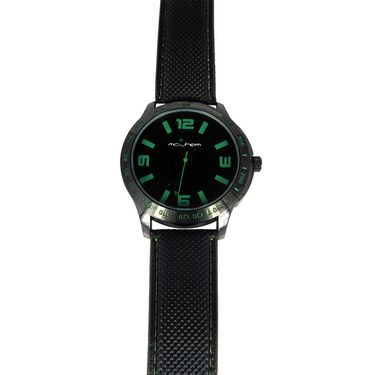 Mayhem Analog Round Dial Watch_Ma2902 - Black