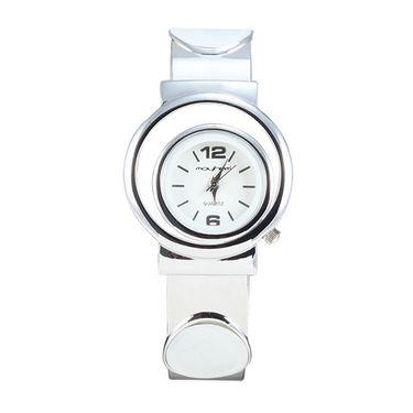 Mayhem Analog Round Dial Watch_Ma2928 - White
