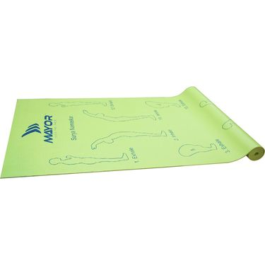 Mayor Sol Yoga Mat 4MM - Green