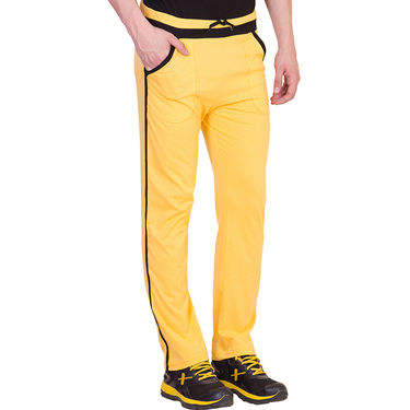 American Elm Men Cotton Lowers_Md090 - Yellow