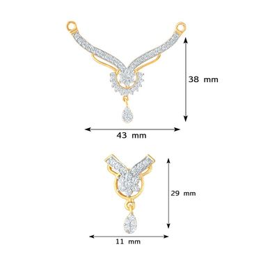 Mahi CZ Gold Plated Mangalsutra Set_Nl1103605g2