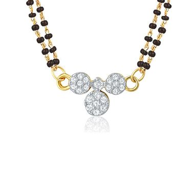 Mahi CZ Gold Plated Mangalsutra Set_Nl1106001g2