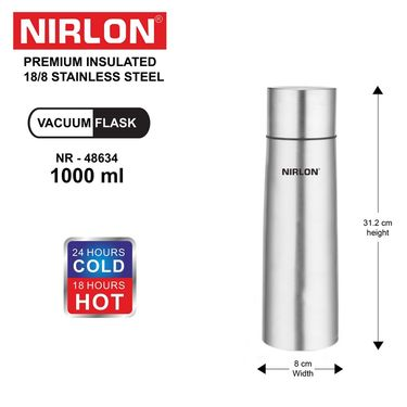 Nirlon  Stainless Steel Vaccum Flask 1000 ml_NR48634