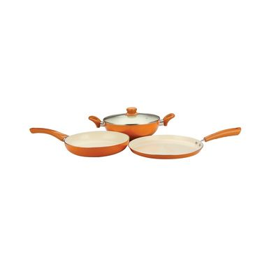Nirlon  4 Layer Ceramic Induction 3 Pcs Gift Set 26 cm_NR48828
