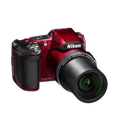 Nikon Coolpix L840 Compact Camera with 16 MP,38x Optical Zoom - Red