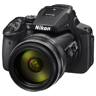Nikon Coolpix P900 Compact Digital Camera with 16MP, 83x Optical Zoom - Black