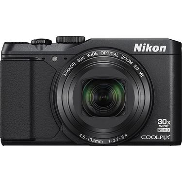Nikon Coolpix S9900 16MP Point Shoot Digital Camera with 30x Optical Zoom - Black