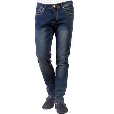 Branded Slim Fit Cotton Jeans_Nto2 - Grenish Blue
