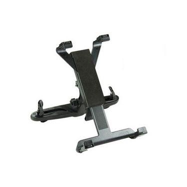 Vibrandz Car Seat Back Headrest Mount Holder for iPad, Tablet PC - Black