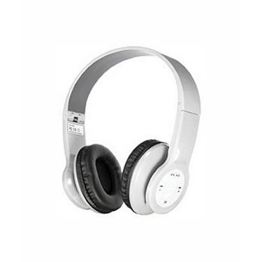 Vibrandz BQ-605 Wireless Bluetooth Headset - White