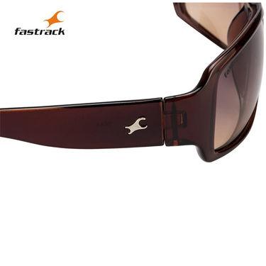 Fastrack Wayfarer Sunglasses For Unisex_P089br2 - Brown
