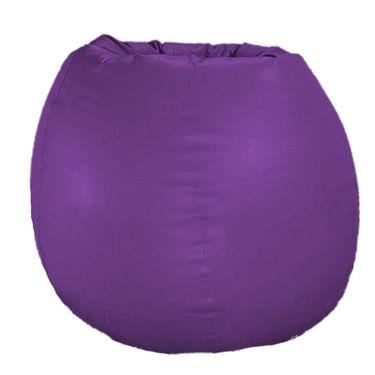 PSYGN Leatherette Standard Bean Bag Cover -  PBB200-PURPLE-XXL