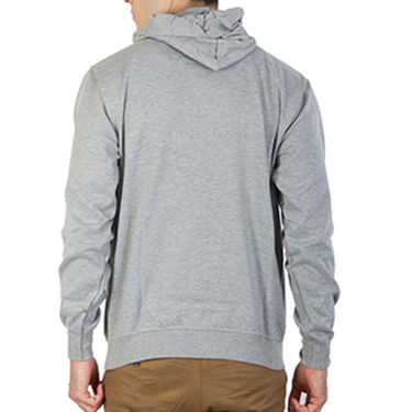 Printland Full Sleeves Cotton Hoodies_Pg1159 - Grey