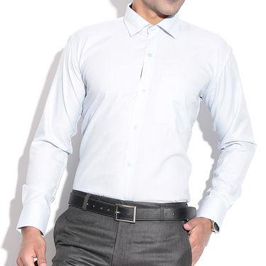 Fizzaro Plain Cotton Shirt _Plsrtc105 - Gray