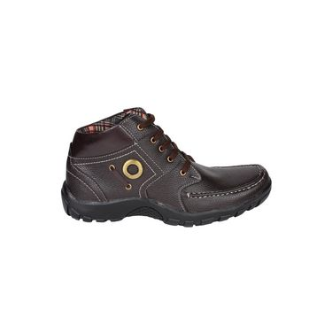 Pede Milan Faux Leather Casual Shoes PM-ASD-1111-Brown