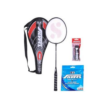 Silver's Pack of 1 Pro - 170 Pro170 Badminton Combo - Multicolor